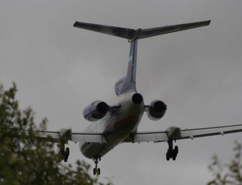 Ту-154 & Lockheed C-130